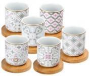 Porzellan espresso cups