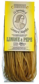 Linguine mit Limone u. Pfeffer Hartweizengries